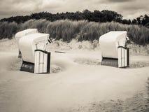 波儿地克的海岛ruegen海运 免版税库存图片