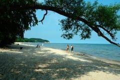 波儿地克的海岸 免版税库存图片