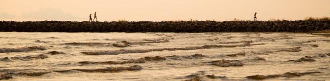 波儿地克的海岸 免版税图库摄影