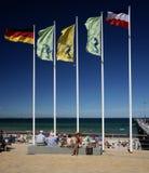 波儿地克的海滩海运 免版税库存照片