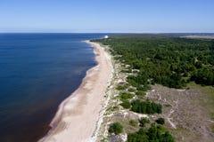 波儿地克的海边 库存图片