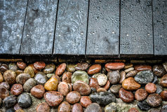 波儿地克的石头 库存照片