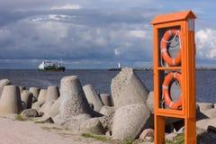 波儿地克的端口海运 免版税库存图片