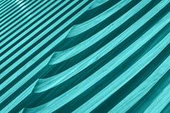 波儿地克的蓝色木板条背景纹理特写镜头 免版税库存照片
