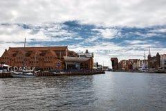 波儿地克的风帆的第22编辑在格但斯克,波兰海湾的  图库摄影