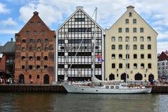 波儿地克的风帆的第22编辑在格但斯克,波兰海湾的  免版税图库摄影