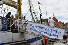 波儿地克的风帆的第22编辑在格但斯克,波兰海湾的  免版税库存照片