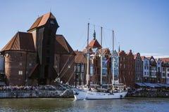 波儿地克的风帆的第22编辑在格但斯克,波兰海湾的  库存图片