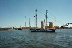波儿地克的风帆2010年。 库存图片