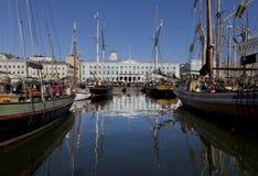 波儿地克的鲱鱼市场 免版税图库摄影