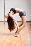 波兰人健身意味灵活性 免版税库存图片