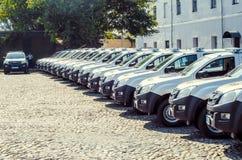 从波兰人的礼物Volynskaiy警察特别汽车 库存照片