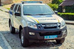 从波兰人的礼物Volynskaiy警察特别汽车 库存图片