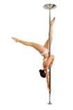 波兰人舞蹈演员 免版税库存图片
