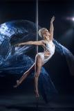 波兰人舞蹈 库存图片