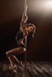 波兰人舞蹈 库存照片