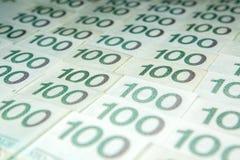 波兰兹罗提货币 免版税库存照片