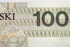波兰兹罗提 免版税图库摄影
