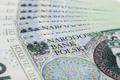 波兰兹罗提 免版税库存图片