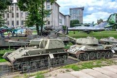 波兰军队博物馆- SU-76M 库存照片