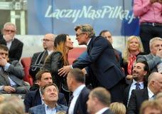 波兰决赛:Legia莱希河 库存图片