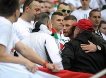 波兰决赛:Legia莱希河 免版税图库摄影