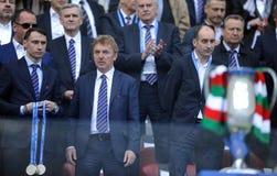 波兰决赛:Legia莱希河 免版税库存图片