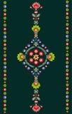 波兰刺绣样式 免版税库存照片