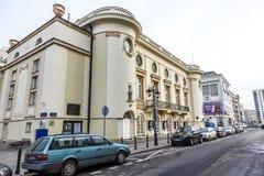 波兰剧院大厦在华沙,波兰 免版税库存照片