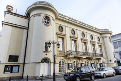 波兰剧院大厦,华沙,波兰 免版税库存图片