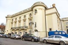 波兰剧院大厦,华沙 免版税库存图片