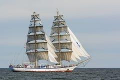 波兰双桅船Fryderyk肖邦航行 库存图片