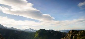 波兰山 库存图片
