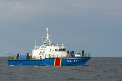 波兰巡逻艇SG-111 免版税库存照片