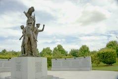 波兰战争纪念建筑 免版税图库摄影