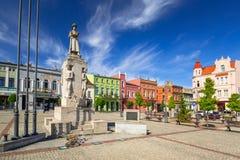 波兰战士的纪念碑Wabrzezno正方形的  库存照片