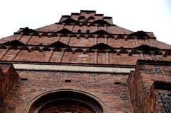 波兰教会 库存图片