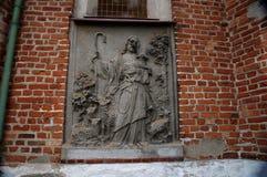 波兰教会 免版税库存图片