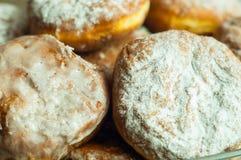 波兰油炸圈饼 免版税库存照片