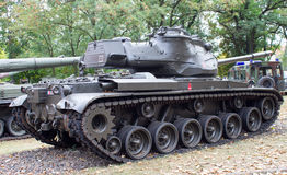 波兰波兹南 2016年10月1日 巴顿M-47 -美国坦克 库存图片