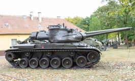波兰波兹南 2016年10月1日 巴顿M-47 -美国坦克 库存照片