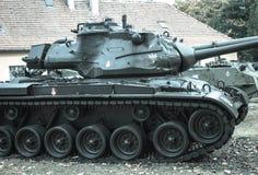 波兰波兹南 2016年10月1日 巴顿M-47 -美国坦克 免版税库存图片