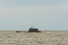 波兰潜水艇ORP Bielik 免版税库存照片