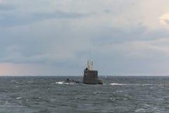 波兰潜水艇ORP Bielik 免版税库存图片