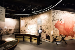波兰犹太人历史博物馆  免版税图库摄影