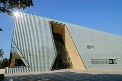 波兰犹太人的历史的POLIN博物馆 库存图片