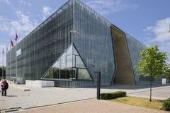波兰犹太人的历史的POLIN博物馆 库存照片