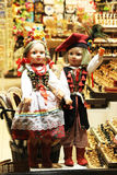 波兰玩偶 免版税库存照片