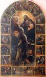 波兰的圣徒风信花 免版税库存图片