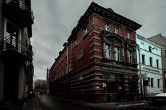 波兰的惊人美丽的冬天  免版税库存图片
